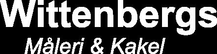 Wittenbergs Måleri & Kakel